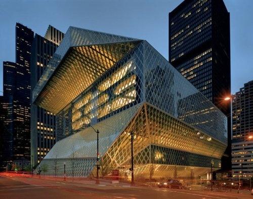Rem Koolhaas, Seattle Public Library