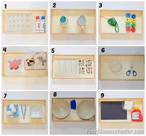 Practical Life Activities @ 24 Months from The Pinay Homeschooler