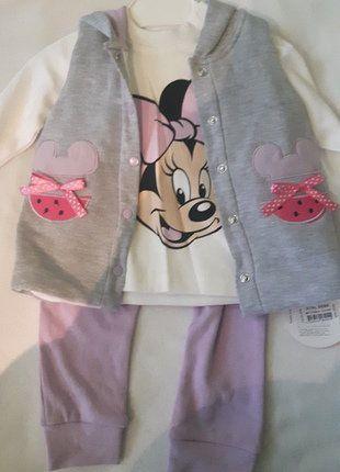 Kup mój przedmiot na #vintedpl http://www.vinted.pl/odziez-dziecieca/dla-niemowlakow-dziewczynki/16816228-dresik-niemowlecy-z-myszka-minnie