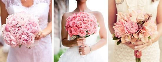 Туфли под цвет свадебного букета