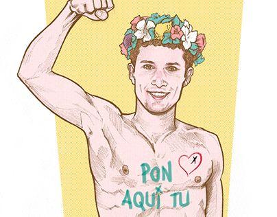 "Check out new work on my @Behance portfolio: ""FEMEN BOY"" http://be.net/gallery/40688311/FEMEN-BOY"