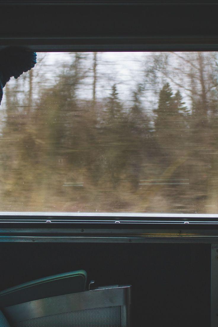 New free photo from Pexels: https://www.pexels.com/photo/gray-back-car-seat-near-gray-car-window-70213 #train #trees #travel