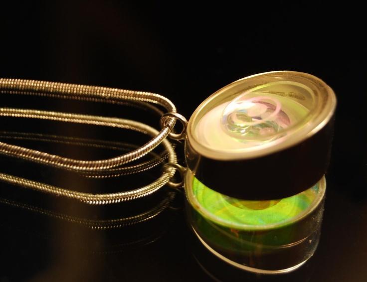 Ball lightning jewellry pendant by Szasz Karoly