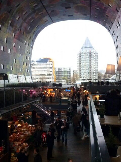 Beautyful new market @ Rotterdam
