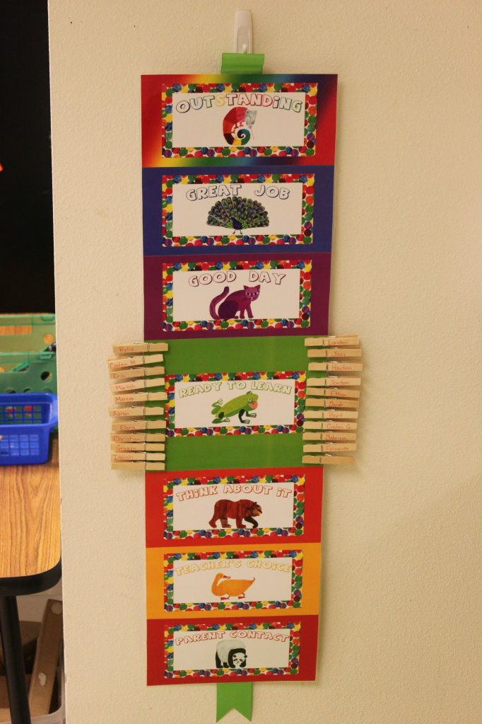 Perfect for an Eric Carle inspired room! :)  Teaching in Blue Jeans: MIA = Working on my Classroom