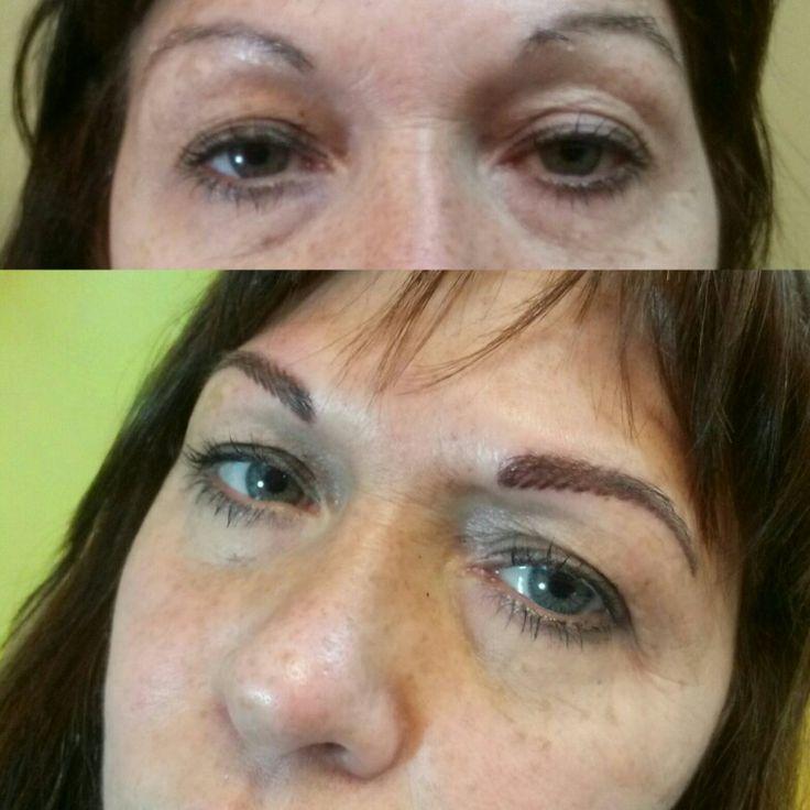 Dermopigmentacion de cejas despobladas por Griselda Tatuadora 1559454688