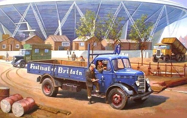 Bedford O Type 1950 by Mike Jeffries
