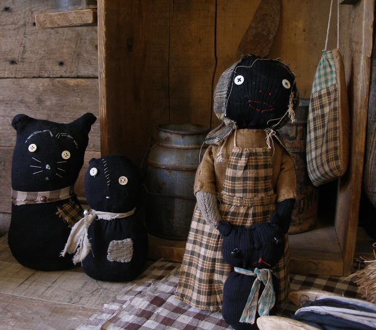 Sweet Liberty Homestead black sock cats. http://www.picturetrail.com/sweetliberty