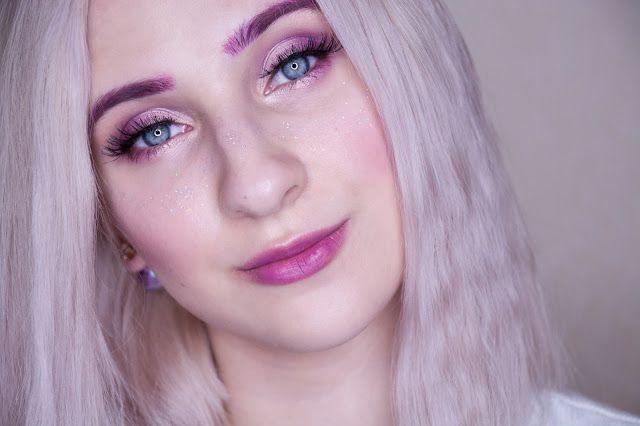 fun pink makeup look