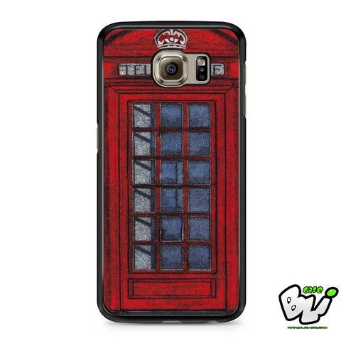 Red London Telephone Samsung Galaxy S7 Case