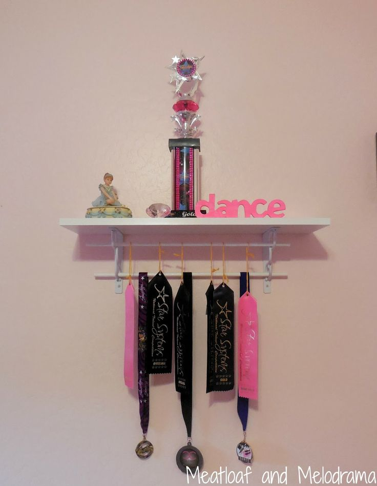 diy trophy shelf the cheap and easy way to make your own shelf for showing kids 39 awards and. Black Bedroom Furniture Sets. Home Design Ideas