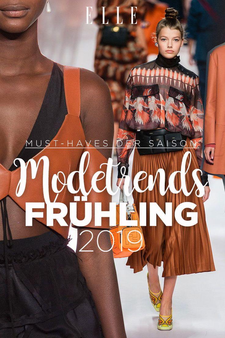 Diese Modetrends erwarten uns im Frühling 2019