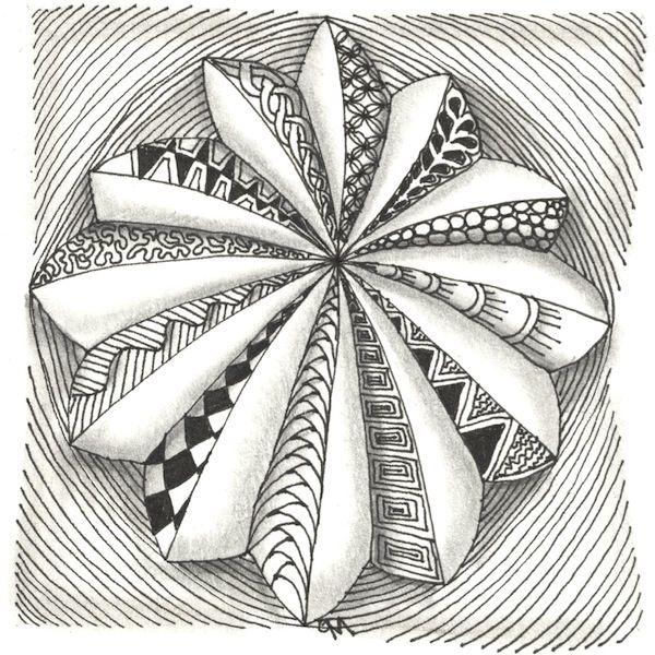 zentangle- like this outline