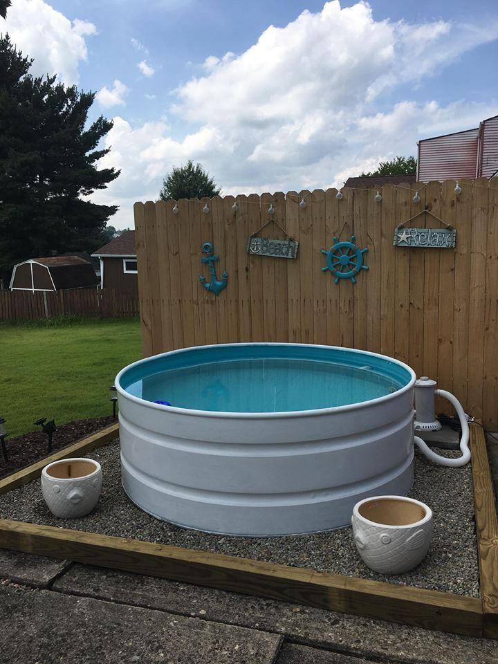 6ft Round Stock Tank Pool Stock Tank Pool Tank Pool Stock Tank