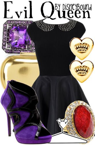 """Evil Queen"" from Snow White by DisneyBound."