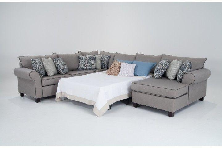 Best 25 sectional sleeper sofa ideas on pinterest for Beeson fabric queen sleeper chaise sofa