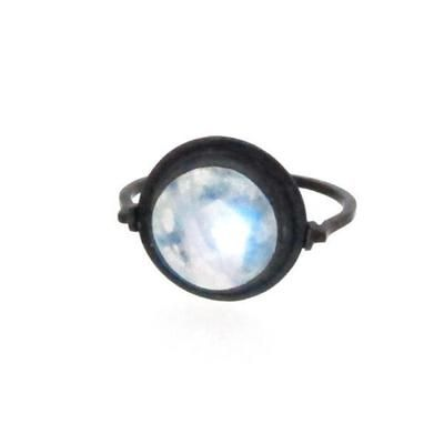 Bague Nautilus Loupe - Pierre de Lune #covetme #sianbostwickjewellerysurboticca.fr