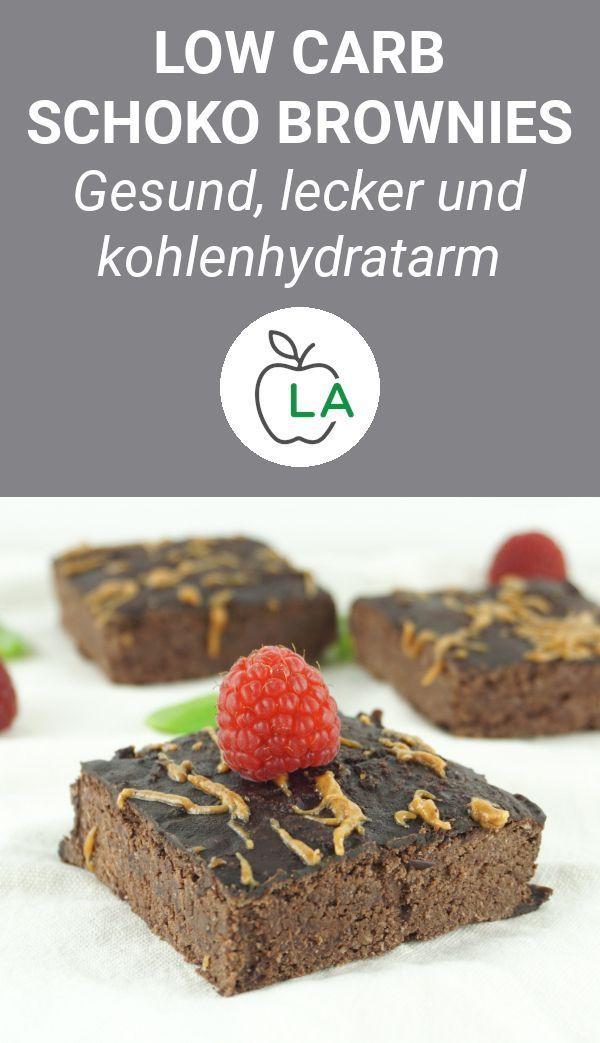 Low Carb Schoko Brownies – Rezept zum Abnehmen