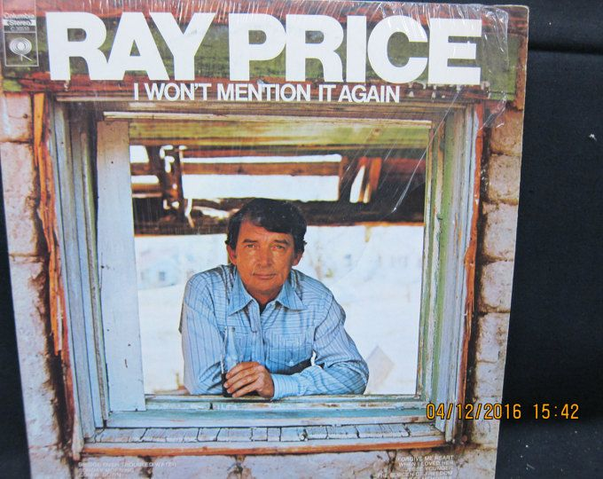 Ray Price I Won't Mention Again - Columbia Records