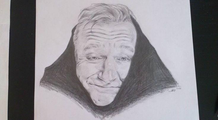 Robin Williams by DarwiO