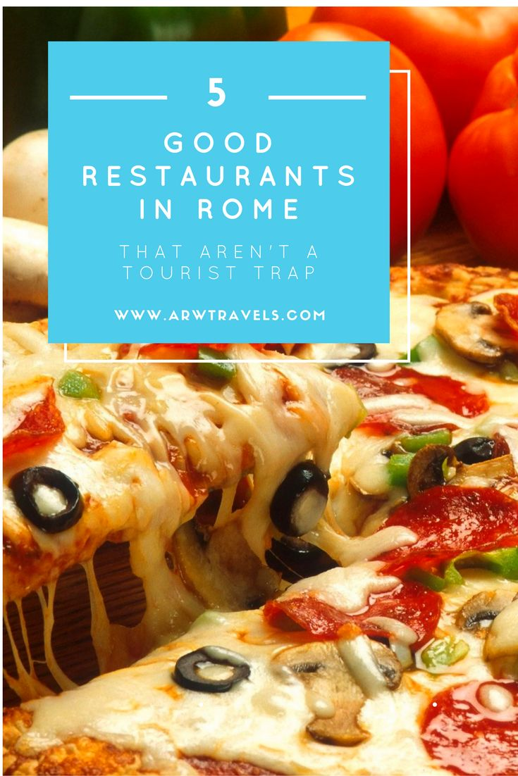 Check out some of the best restaurants in central Rome where you can find real Italian food without getting ripped off!