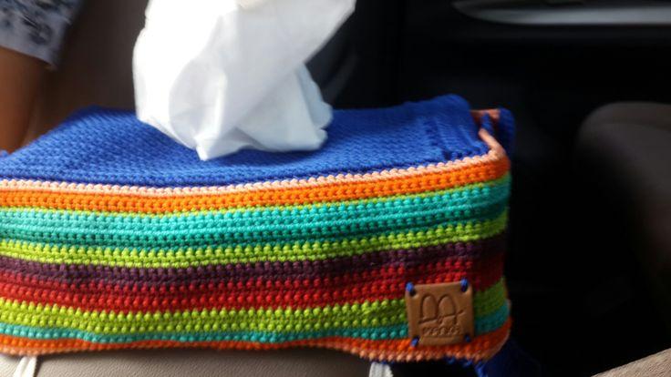 Cover box tissue #manka handmade