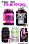 Top 5 Best Tasting Protein Powders For Women | Health and Happy Hour