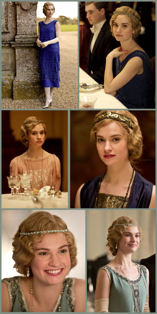 Downton Abbey hair/ costumes