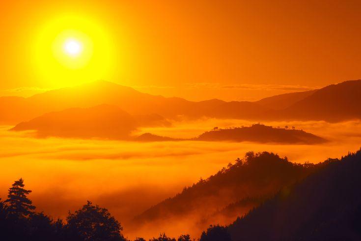 天空の城ラピュタ - 竹田城跡 #天空の城 #ラピュタ #立雲峡 #Laputa