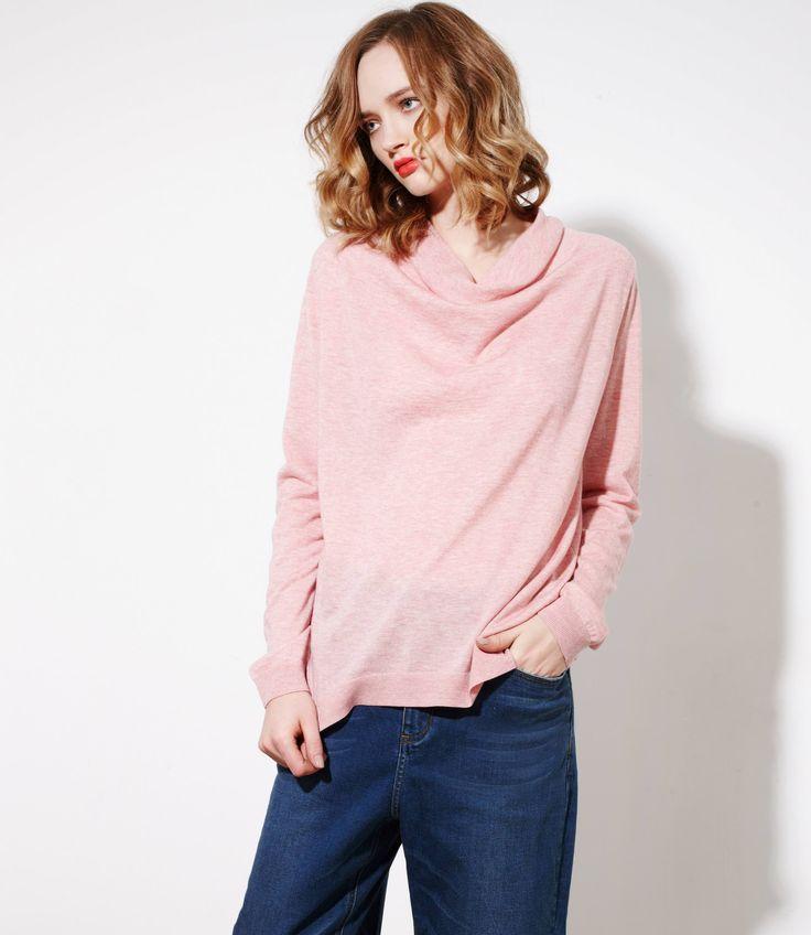 Silkwood Sweater in Coconut Ice - Cashmere/Silk/Merinowww.nineteen46.co.nz
