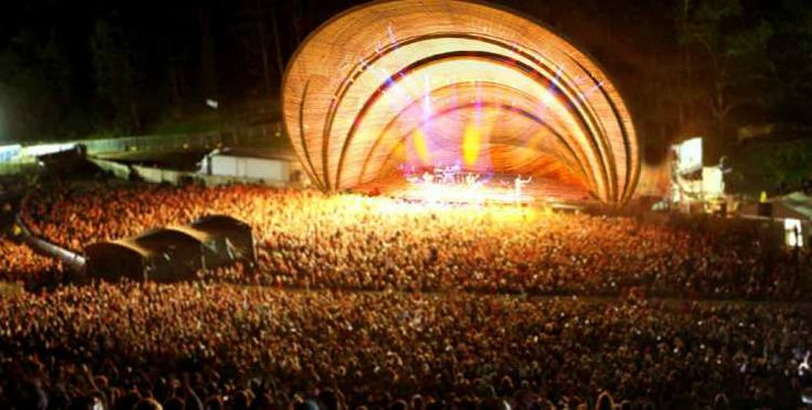 Bamboo Woven Amphitheatre, Cave Urban, Sydney-based grass roots design collaborative.