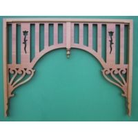 Interior Fretwork - Dan Hall Arch - Timber - Ryan Woodworks