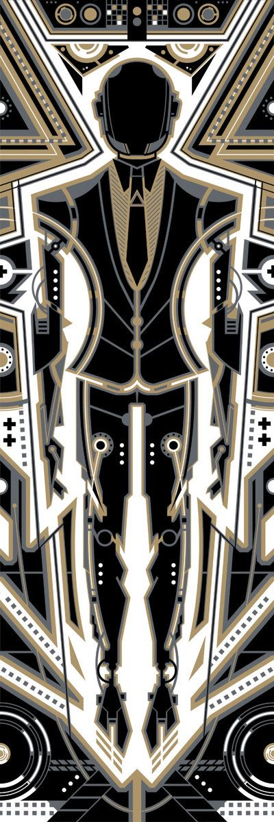 Daft Punk - Gold by ron-guyatt.deviantart.com on @deviantART