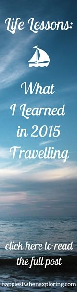 Life Lessons: What I Learned in 2015 While Traveling (10 lessons across 10 cities in Europe)  // read it at happiestwhenexploring.com