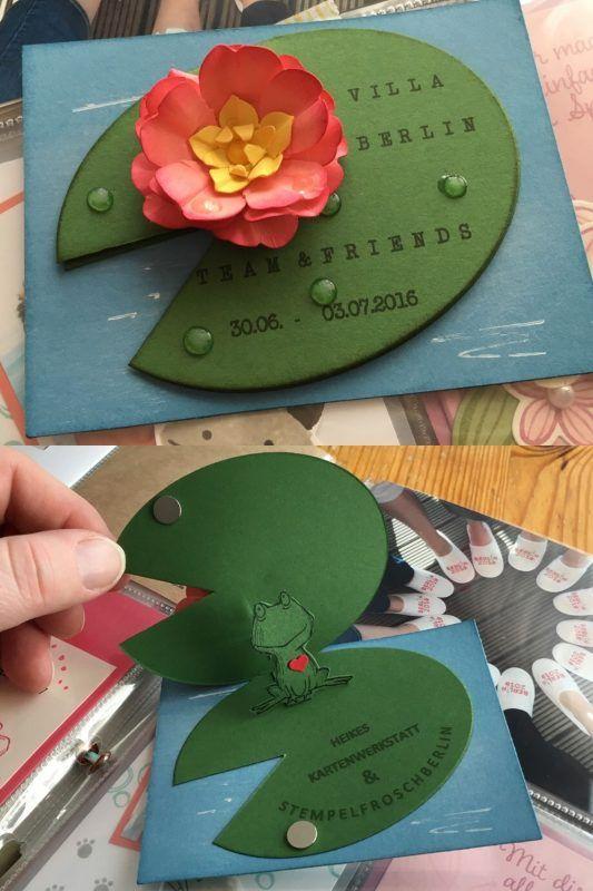 Frosch Seerose                                                                                                                                                      Mehr