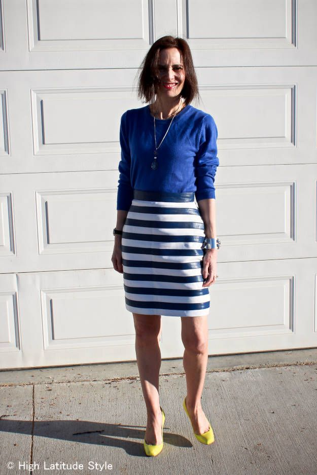 367 best images about how to wear the striped skirt