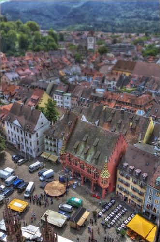 Historisches Rathaus in Freiburg