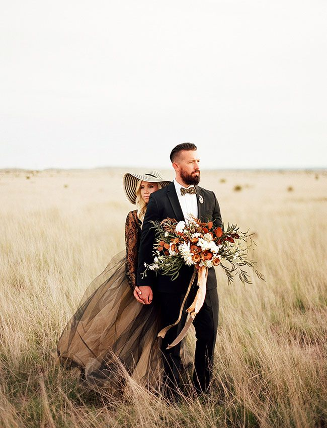 Bohemian Black Tie Wedding Inspiration from the Clayton Austin Workshop
