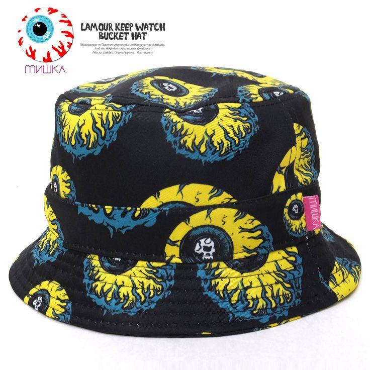 ミシカ MISHKA バケットハット LAMOUR KEEP WATCH BUCKET HAT :5v4144:DEEP B系・ストリートファッション - 通販 - Yahoo!ショッピング