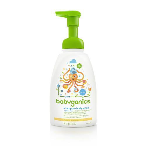 "BabyGanics Fragrance Free Shampoo & Body Wash - 16 Ounce - BabyGanics - Babies ""R"" Us"