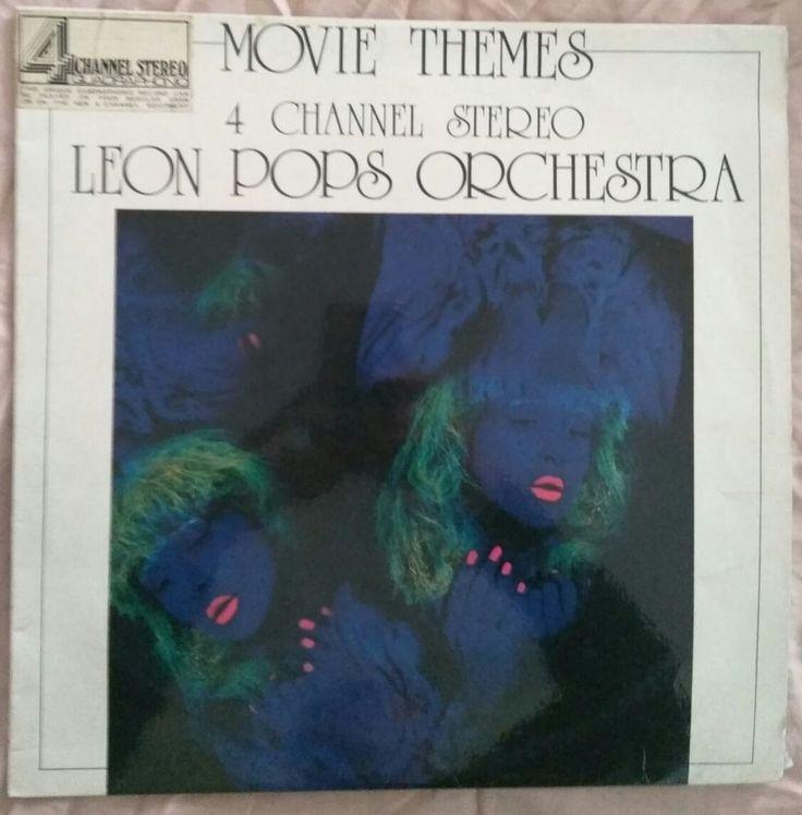 Leon Pops Orchestra Movie Themes Vinyl LP in Music, Records | eBay!