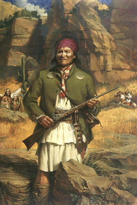 C. Apache Leader, Geronimo
