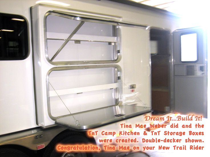 Order Your TnT Camp Kitchen Or On Your Custom Or. Find This Pin And More On Horse  Trailer Living Quarters Ideas ...