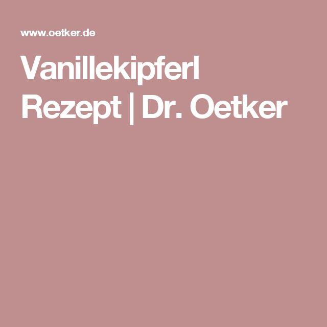 Vanillekipferl Rezept | Dr. Oetker