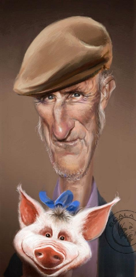 caricature | anyone knows his name? ( he is an actor)