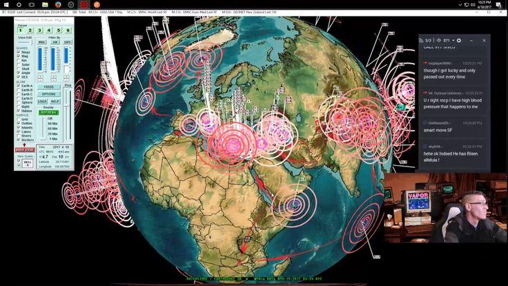 4/18/2017 -- Nightly Earthquake Update + Forecast -- New Zealand , Fiji, Peru hit as expected #Dutchsinse