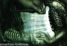 HR Giger Art Poster Print The Shiner Biomechanical Baphomet Erotic Alien Zombie