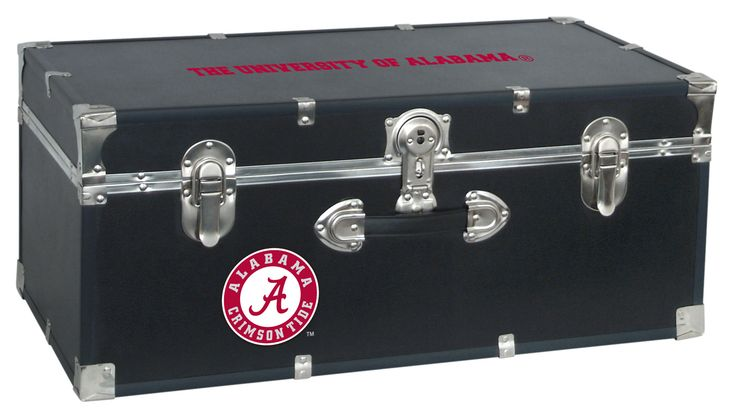 Alabama Crimson Tide Storage Trunk Locker Storage