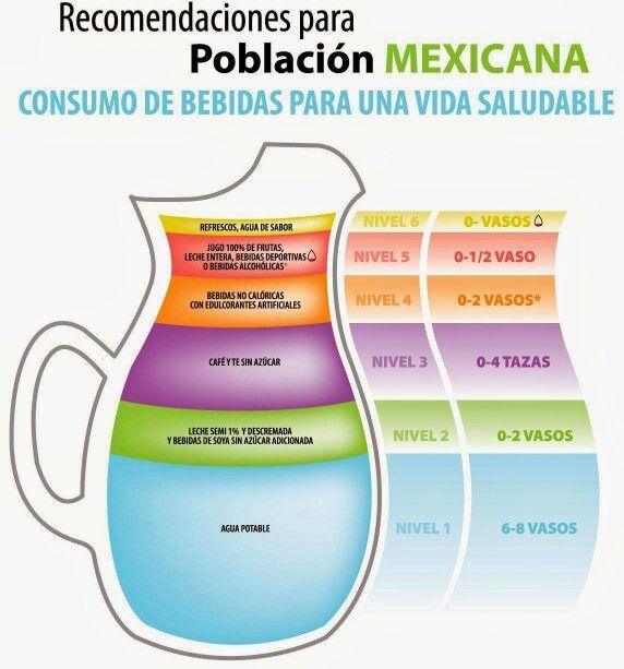 Consumo de bebidas parauna vida saludable