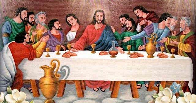 Jueves Santo La última Cena Jesús Predice La Negación De Pedro Y La Traición De Judas Instituy La Ultima Cena Cuadro De La última Cena Ultima Cena De Jesus